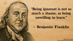 On Being Ignorant by AmericanDreaming