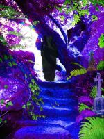 The Stairs by Starchasm