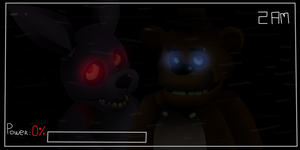 Five nights at Freddy's by R-o-m-a