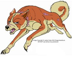 GDN New Ginga OC by DragonHeartLuver