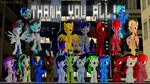 Thank you all! by TheDarkLordK
