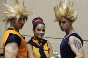 DBZ Trio by Cortana2552