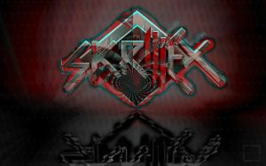 Skrillex Wallpaper -HeroMAU5's BANGARANGin' Edit- by HeroMAU5
