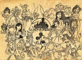 Disney Collage by vivsters