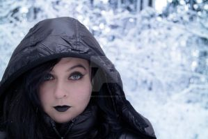 Winter Portrait 1 by Walden-Photography