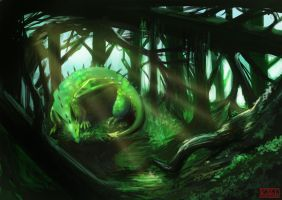Swamp Sleeper by kovah