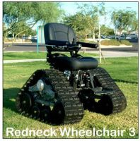 Redneck Wheelchair by GaarasGirl86