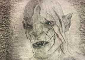 Azog the Defiler by darksidentic