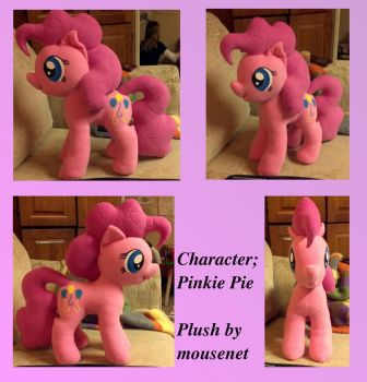 Pinkie Pie 3 by mousenet