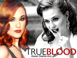 True Blood- Queen Sophie-Ann. by fantasy-passion