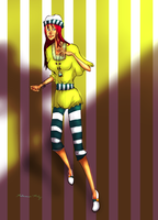 Stripe Girl by Beccawolf16
