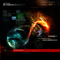 internet explorer 8 by webdesigner1921