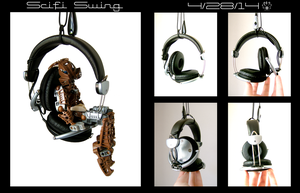 Scifi Swing-Bionicle chair by Pearllight180