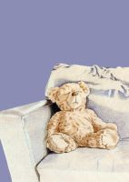 Lonely Teddy by mrana