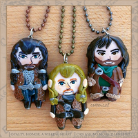 Durin Family Pendants by Comsical
