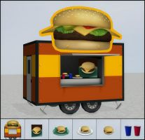 Burger Catering by deexie