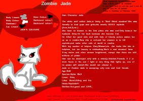 Commison for Ask-Zombie-Jade           Zombie Jade by FireFly1800
