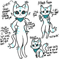 Cat Android Species Reference! by Pika-Pika-Pikahu