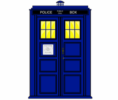 Doctor Who TARDIS Fading by Silverhammer37