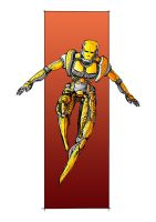 Yellow Robot by Theorin