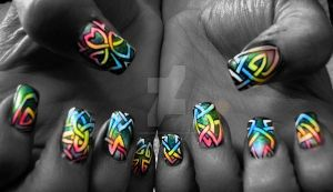 Colorful Celtic by angelarcanum