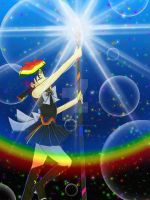 DavisJes-Sailor Rainbow Attack by YuniNaoki