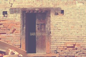 ... OPEN YOUR HEART ... by lalitkala