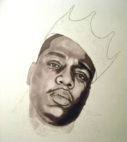 Notorious BIG wip by CGT