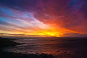 Sunset in CapeTown by charlomer