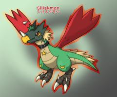 Siliskmon by Infernape77
