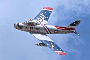 F-86 Sabre by OpticaLLightspeed