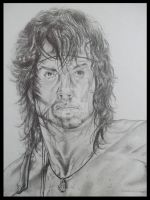 RAMBO III (3) SYLVESTER STALLONE PORTRAIT by BUMCHEEKS2
