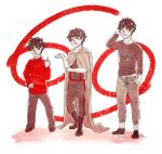 Swapping Clothes - Vantas by steamshade69