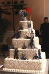 Conan Obrien Zombie Apocalypse Wedding Cake by Megan-of-Glefk