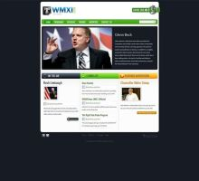 WMXI Talk Radio Station Website by HappyCatfishWeb