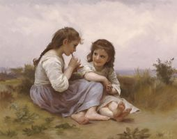Master Study: A Childhood Idyll by Jerner