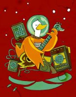 spaceduck rocking out by jinguj