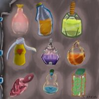 Potions training by caiochanime