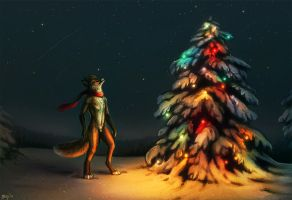 Christmas Lights by Maquenda