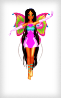 MMD Enchantix Flora DL by 2234083174