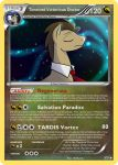 Timelord Victorious Doctor Pokemon card by The-Ketchi