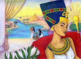 Nefertiti 2 by egyptians