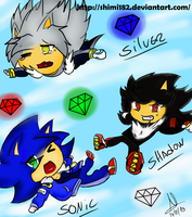 sonic  chibis by Shimi182