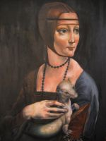 Lady with the Ermine by JoNsEy-XD