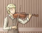 HS - ASC AU - Past-Dirk with violin by ChibiEdo