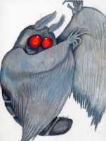 Mothman by Alkaline-Lady