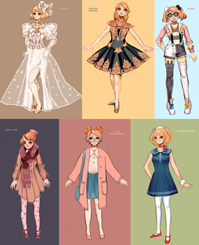 Outfit Designs by Eclipsing
