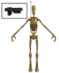 CWA - Battle Droid with Blaster by TRDaz