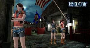 Claire  Redfield _MemoryLostCity_Re dsc (xps) by ChrisTalyus