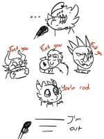 Taichi's short opinion about everyone in TJ by Camy-Orca